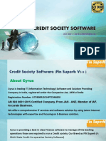 Credit Society Software in India