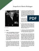Martin Heidegger en Castellano. Bibliografía