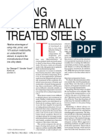 (Artigo) – Etching Isothermally Treated Steels – G. F. v. VOORT