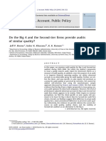 Do the Big 4 and the Second-tier firms provide audits of similar quality.pdf