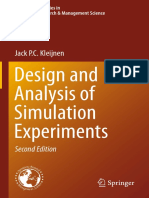 (International Series in Operations Research &Amp_ Management Science 230) Jack P.C. Kleijnen (Auth.)-Design and Analysis of Simulation Experiments-Springer International Publishing (2015)