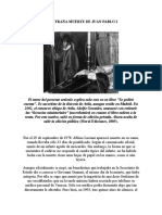 La Extraña Muerte de Juan Pablo i