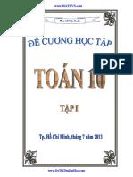 [bsquochoai] Sách Thầy Dạy Nè - Đề Cương Toán 10 Tap I (Le Van Doan) http://bsquochoai.ga