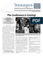 Nov-Dec 2006 Passages Newsletter, Pennsylvania Association for Sustainable Agriculture