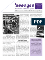 May-June 2007 Passages Newsletter, Pennsylvania Association for Sustainable Agriculture