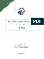 Peace Corps Guinea Final Evaluation Report IG-07-14-E