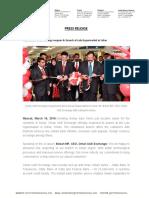 Oman UAE Exchange Reopens Its Branch at Lulu Hypermarket in Sohar