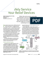 Relief Valves- Safe Service