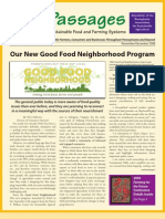 Nov-Dec 2008 Passages Newsletter, Pennsylvania Association for Sustainable Agriculture