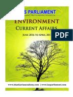 IAS Parliament Environment