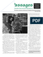 Mar-Apr 2009 Passages Newsletter, Pennsylvania Association for Sustainable Agriculture
