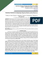 Statistical Method of Estimating Nigerian Hydrocarbon Reserves