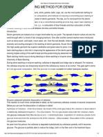 Denim & Textile Processing_ Anti Back Staining Method for Denim