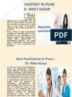 Psychiatrist in Pune - Dr. Niket Kasar