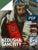 Jewishtimes VOL. XVI NO. 8 — MAY 5, 2017