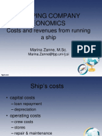 Erasmus - PL - Costs & Revenues From Running a Ship