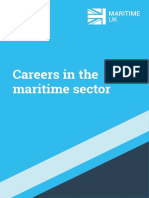Careers in the Maritime Sector