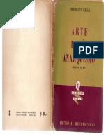 Arte Poesia Anarquismo Herbert Read