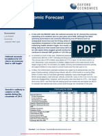 Country Economic Forecasts - Chile (1)