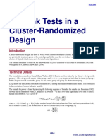 Logrank Tests in a Cluster-Randomized Design