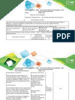 Guía de actividades y rúbrica de evaluación - Fase 1. Esquema explicativo - Reconocimiento del Curso (1)