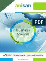 Anisan Corporate Brochure