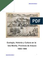 """Chile, """"Isla Mocha 1850- 1994"""""""