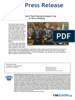 PR 164 2017 European 125 Youth Track Racing at Torun
