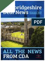 Cambridgeshire Deaf News Summer 2017