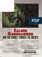 Party of 1 - BB1 Kalgor Bloodhammer and the Ghouls Through the Breach