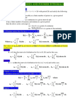 Fourier Series and Fourier Integrals