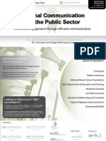 How to communicate with limited resources in the public sector