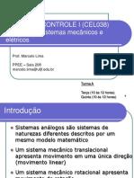 Controle-I-Analogia de Sistemas Mecânicos e Elétricos