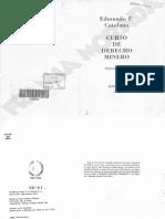 Curso de Derecho Minero -Catalano.pdf