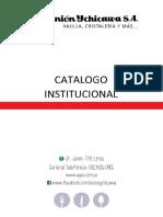 Catalogo Unionychicawa