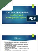 Presentación Red de Conocimiento Sector Salud -  Investigación Aplicada