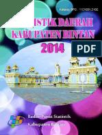 Statistik Daerah Kabupaten Bintan 2014