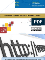RECURSOS PARA DOCENTES TICeci-2017-Ticparadocentesinvestigadoresfinal
