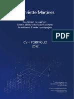 CV + PORTFOLIO Henriette 2017 _linkedin