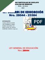 Ley de La Educacion 28044-23384