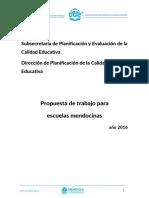Propuesta de Trabajo Para Escuelas Mendocinas Junio 16