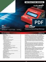 RacingStar RS16 Charger Manual