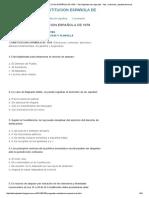 100 PREGUNTAS CONSTITUCION ESPAÑOLA de 1978 _ Test Vigilantes de Seguridad - Test , Exámenes _ Apuntes,Temarios