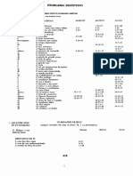 Lista de Parábolas Segundo EBTF