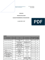 Catalogul Manualelor Scolare Valabile in Inv Preuniversitar  2016-2017