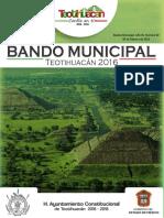 Bando Municipal 2016