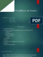 Installation Du Chantier
