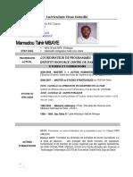 Curriculum Vitae_Mamadou Tahir        MBAYE.docx