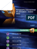 Aeropuerto de Chinchero incompleto