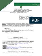 Resolução Nº 03 - PPC Engenharia de Controle Automação - SEI